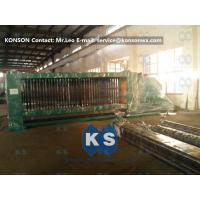 Best Smooth Running Hexagonal Wire Netting Machine , Automatic Gabion Net Machine wholesale