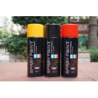 Best Fast Dry 400ML Bright White Spray Paint Black Lacquer Paint For Wood wholesale