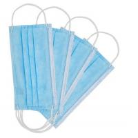 Best Multi Layer Disposable Medical Mask With Adjustable Aluminum Nose Piece wholesale