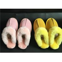 Buy cheap Ladies Australian sheepskin lined slipper mules 100% sheepskin shearling lining from wholesalers