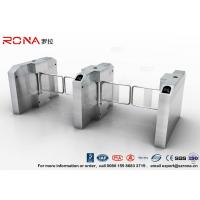 Best Fingerprint Entrance Swing Barrier Gate Stainless Steel For Handicap Channel wholesale