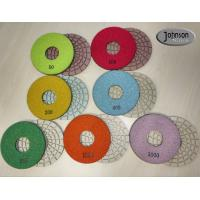 Best 5 inch Ceramic Bond Dry Diamond Polishing Pads for Concrete high Effective wholesale