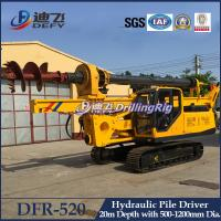 Best Manufacturer of Hydraulic Piling Driver Machines DFR-520 for Sale wholesale