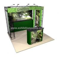 Details of truss booth trade show booth display booth for Cheap truss systems