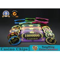 Best Acrylic Crystal RFID Rectangular Poker Chips Plaque Casino Jeton Real Gaming wholesale
