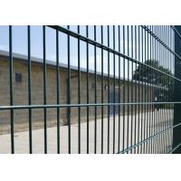 Best Green Powder Coated Double Wire Mesh Fence / Welded Wire Mesh Panels 200 X 50 MM wholesale