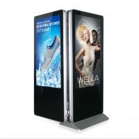 Best Indoor Double Side Kiosk Digital Signage Lcd Screen 55