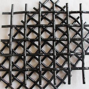 Best High Tensile 65mn Woven Steel Mesh Panels, Vibrating Screen Mesh For Crusher wholesale