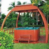 Best Outdoor SPA Pavilion/Gazebo/Wooden Pavilion, Customized Designs and Logos are Welcome wholesale