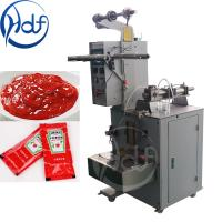 Best Automatic Pouch Jelly Packing Machine , Tomato Ketchup Paste Packaging Machine wholesale