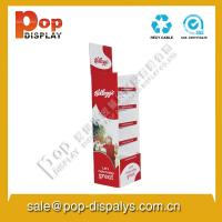 China Red Custom Cardboard Display Units , Super Market Display on sale