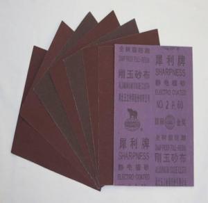 Best abrasive cloth sheet ( adysun04) wholesale