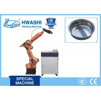 Buy cheap HWASHI  Six Axis Robotic Arm , Automatic Laser Welding Robot from wholesalers