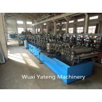 Quality 80 - 300mm Width CZ Roll Forming Machine Steel Roll Former Construction Beam Usage wholesale
