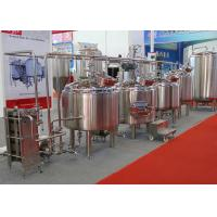 Best Micro Automatic Commercial Beer Brewing Equipment Mirror Polish Inner Surface wholesale
