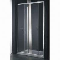 Best Standard Tempered Glass Sliding Shower Enclosure, Frameless or with Holes wholesale