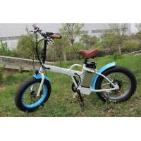 China Portable Fat Tire Electric Bike 250W Brushless Hub Motor Suspension on sale