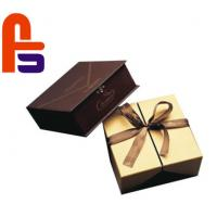 China High End Design  Recyclable With Silk Ribbon Accessories Cardboard Gift Boxes on sale