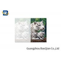 Best Lovely Animals 3D Image Lenticular Card Printing Two Sides CMYK Offset Printing wholesale