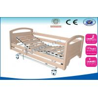 Best Three Function Adjustable Medical Bed Sickbed with Full length Side Rails wholesale