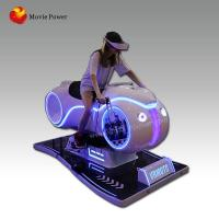 Buy cheap 2018 impressive crazy driving simulator vr motorcycle+playing 9d vr racing game machine from wholesalers