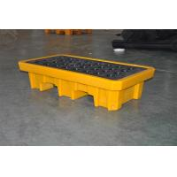 Best Chemical Drum Spill Containment , 2 Drum Spill Pallet For Storing Oil / Solvents wholesale