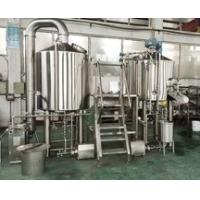Best 600L Brewery Plant Manual Micro Brewing Equipment With Wort Detecting Station wholesale