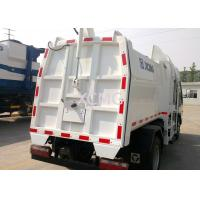 Best Streamline PLC Garbage Compactor Truck Special Purpose Vehicles With Hydraulic System wholesale