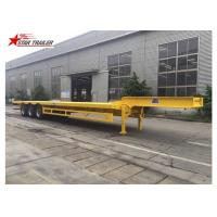 3 Axles Front Load Trailer High Strength Steel Material For Cargo Transportation