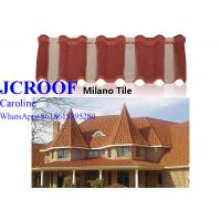 Best Korea Style Aluminum Step Tiles Roofing Sheet stone coated metal sheet to Africa wholesale