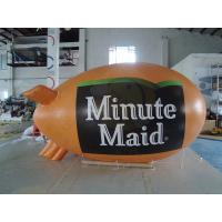 Best 0.18mm PVC Helium Advertising Blimps Bespoke UV Productive Printing wholesale