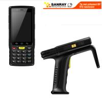 Quality Portable Handheld Uhf Rfid Reader , Usb Rfid Reader Writer LCD Touch Screen wholesale