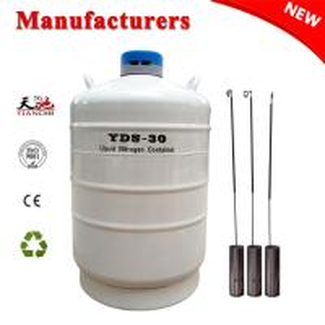 Best TIANCHI 30L Liquid Nitrogen Cylinder YDS-30 Aviation Aluminum Container Price wholesale