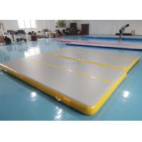 Best Double Triple Stitching 4x2x0.2m Inflatable Air Tumble Track wholesale