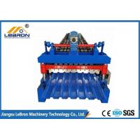 Best 10-15m/min Corrugated Sheet Roll Forming Machine , Corrugated Roof Roll Forming Machine wholesale