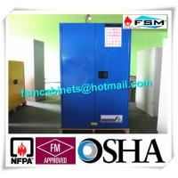 Best 60 Gallon Corrosive Storage Cabinets Flameproof For Hydrochloric Acid / Acetic Acid wholesale