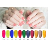 Best Professional Fashion New Design Transparent Color Smooth Nature Varnish Glaze Gel Nail Polish wholesale