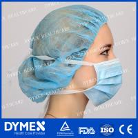 China Non woven Disposable 3 Ply Tie-on Surgical Face Mask with High Performance on sale