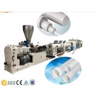 China Drainage And Electric Conduit PVC Plastic Pipe Extrusion Machine , PVC Pipe Production Line on sale