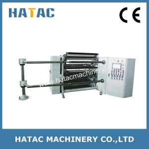 Best CNC Plastic Film Roll Cutting Machine,Aluminum Foil Roll Material Slitting Machine,OPP Slitter Rewinder wholesale