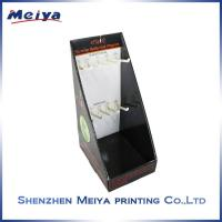 Best CMYK printing Black Hook Display Stand for e-cigerattes , custom cardboard displays wholesale