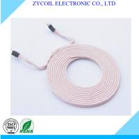Cheap Copper Wire Wireless Charger Coil , Toroidal QI Charging Coil For Iphone for sale