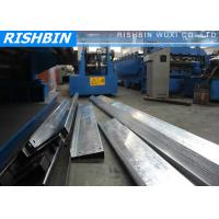 Quality Frigate Structural Steel Metal C / Z / U Purlin Roll Forming Machine High speed wholesale