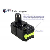 Best Lithium Ion Rechargeable Power Tool Batteries 18v 6.0Ah For Ryobi P104 P102 P103 P107 P108 wholesale