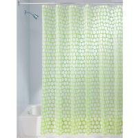 Best Factory Wholesale Fashionable PEVA Plastic Shower Curtain With Hooks for Bathroom wholesale