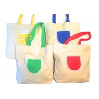 Best Canvas Tote Shoulder Bags Reusable Beach Bags , Grocery And Shopping Bags wholesale