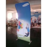 Best 4*8FT Cobra Tension Fabric Banner Aluminum Stand + Graphic Printing wholesale