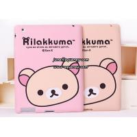 Best Cute silicone case for ipad 2, Rilakkuma Brown Lazy Bear silicon case for Ipad 2 wholesale