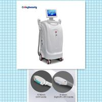Best model number SH-1 vertical model two handles super hair removal machine ipl+rf laser machine wholesale
