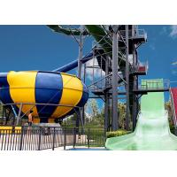 Buy cheap Huge Space Bowl Water Slide Playground / Commercial Water Slide Equipment from wholesalers